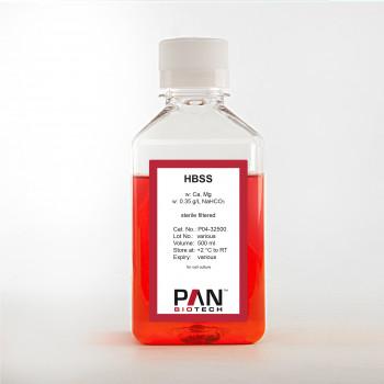 HBSS, w: Ca and Mg, w: 0.35 g/L NaHCO3