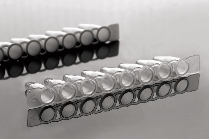 PCR 8-Strip Tubes, 0.2mL PCR