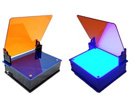 Blue light transilluminators: blueBox™ S and Pro
