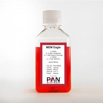 MEM Eagle w: EBSS, w: 2 mM L-Glutamine, w: 1 mM Sodium pyruvate, w: NEAA, w: 1.5 g/L NaHCO3