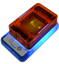blueGel™ electrophoresis system