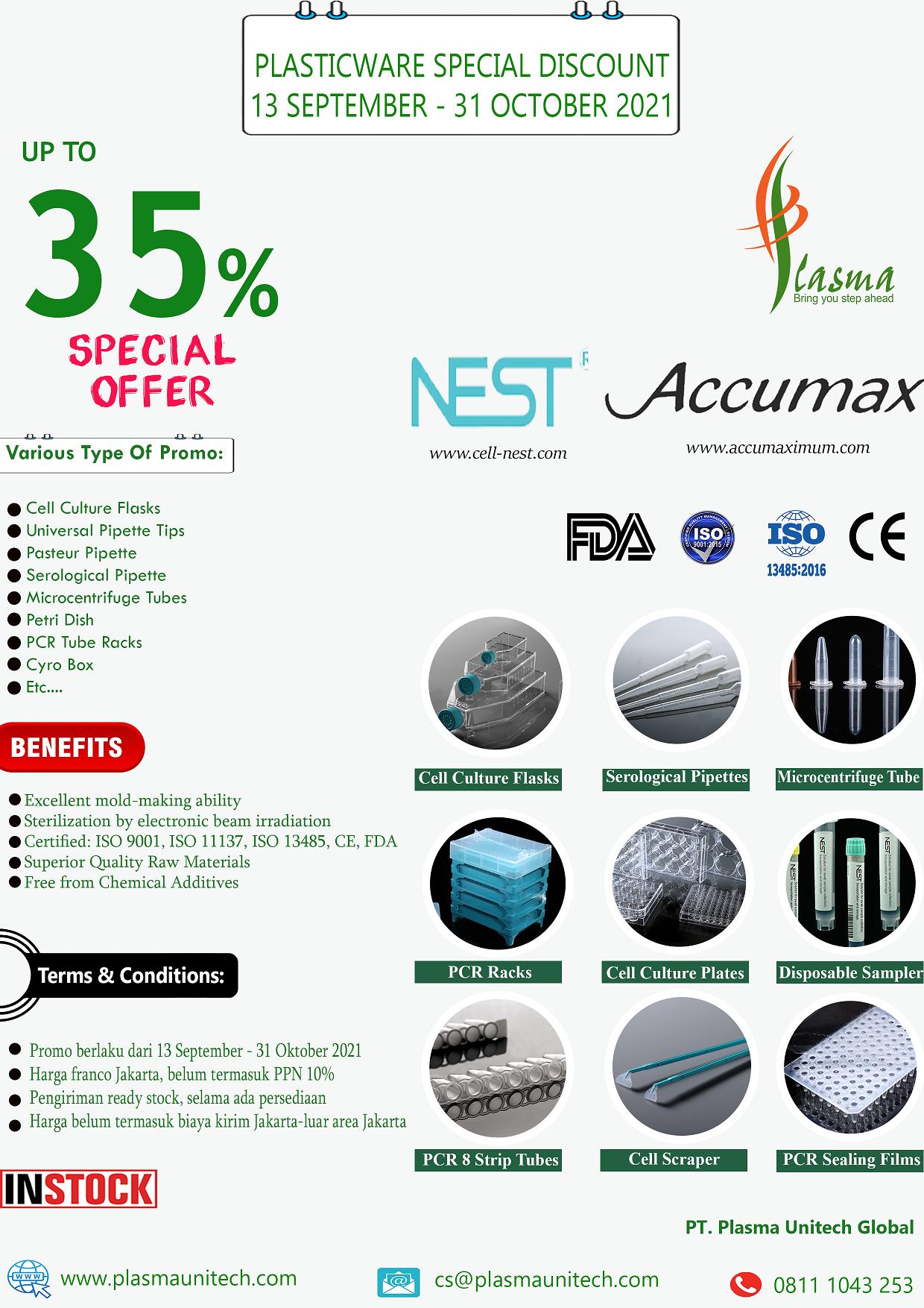 Promo PlasticWare Nest Accumax