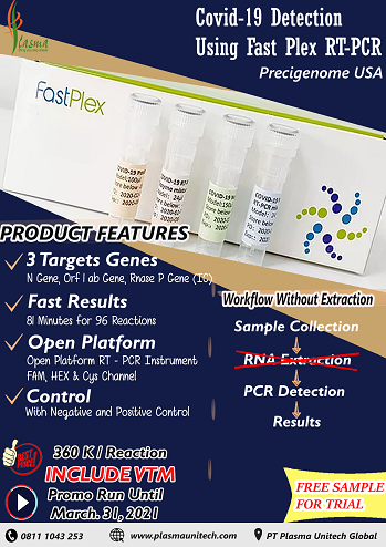 Covid-19 Detection Using Fast Plex RT-PCR